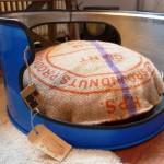 Hondenmand - blauw - industrieel - stoer - ruig - upcycle - origineel - handmade - indusigns