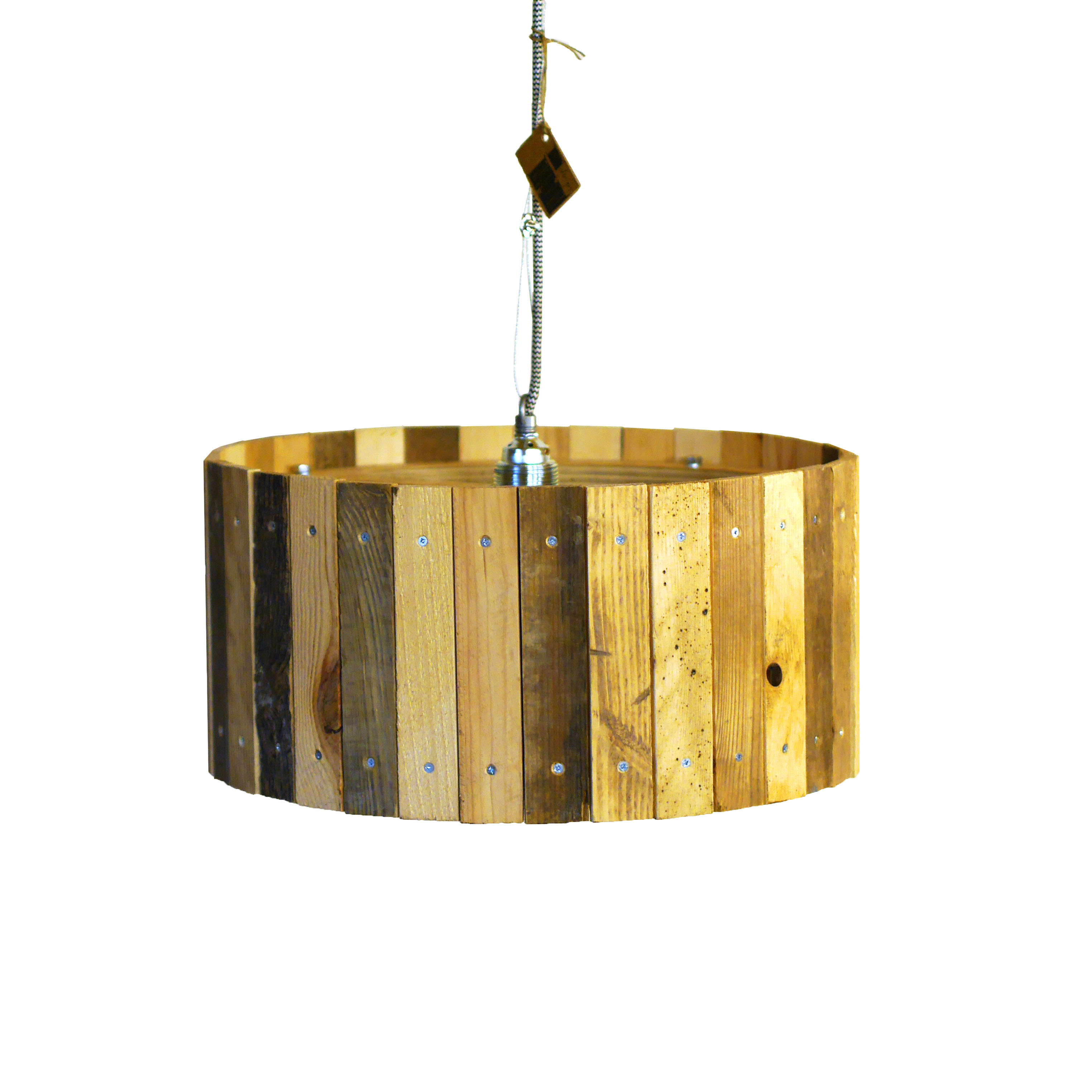 Industriële Hanglamp 'Woodfellas' Indusigns