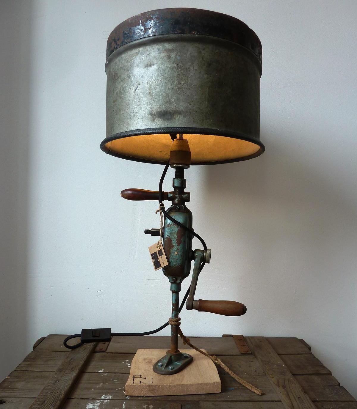 Indusigns shop / Verlichting / Industriële Tafellampen /