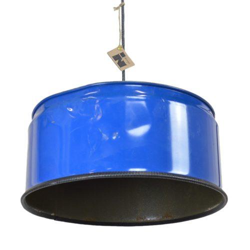 Industrieel Design Indusigns Hanglamp Blauw Gedeukt 2