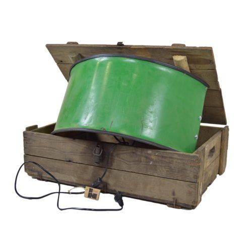Industriële Wandlamp 'Rusty Green' Indusigns