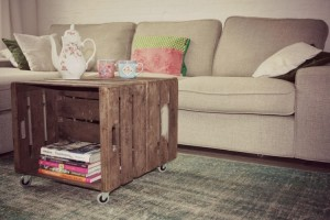 Knoest Fruitkisten Interieur Idee