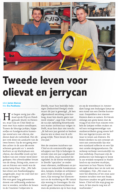 Interview de Stentor