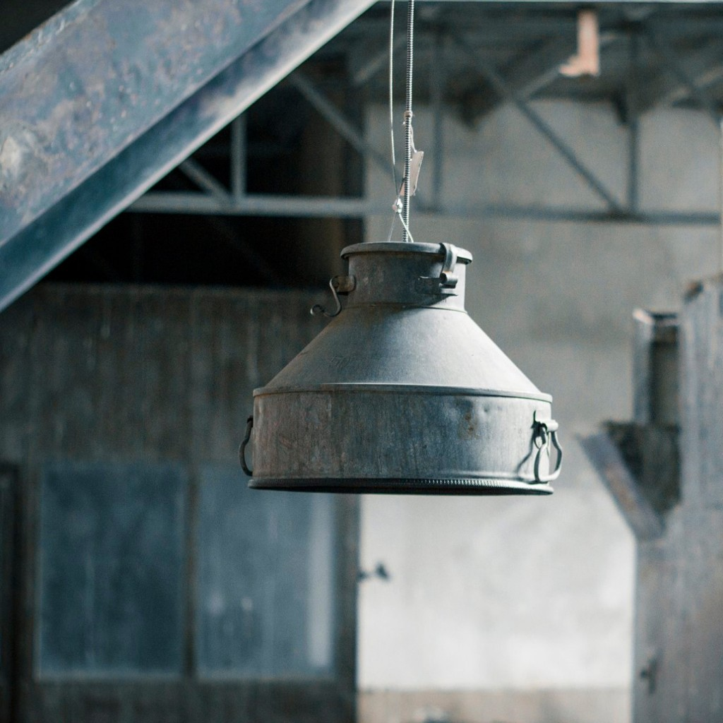 Upcycled Industriële Grote Hanglamp van Indusigns