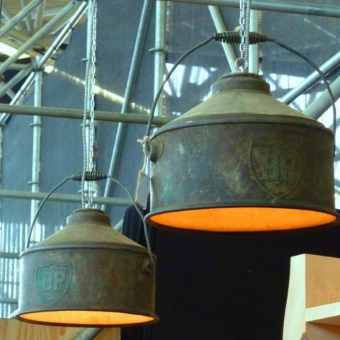 Upcycled Industriële Zinken Hanglampen van Indusigns