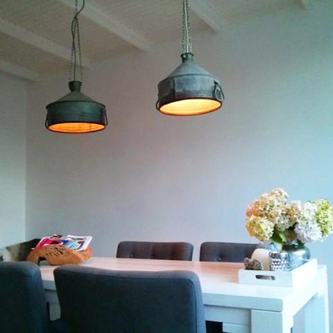 Industriële Zinken Hanglamp Indusigns
