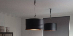 Industriële Gespoten Hanglampen