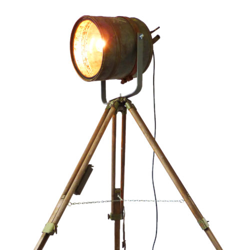 Industriële Statieflamp 'US Rusty Barrel' Indusigns