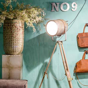 Industriële Statieflamp 'Roest vintage hipster' Indusigns