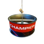Industriële Open Hanglamp 'Iron Champion' Indusigns