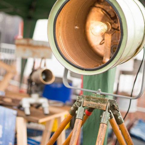 Industriële Statieflamp Indusigns