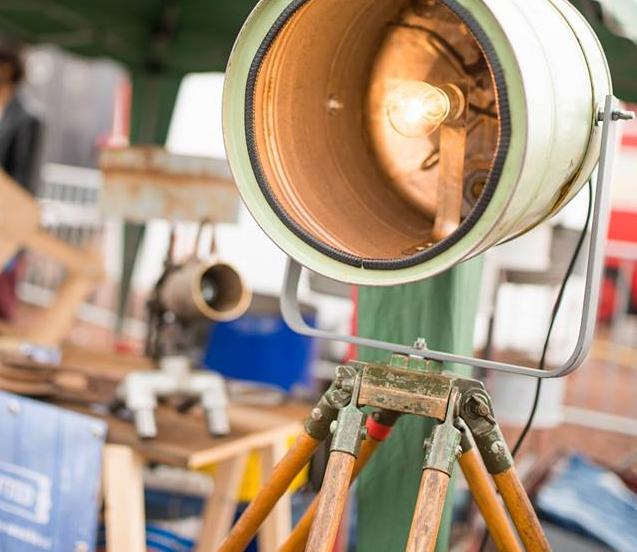 Indusigns Statieflamp Industrieel