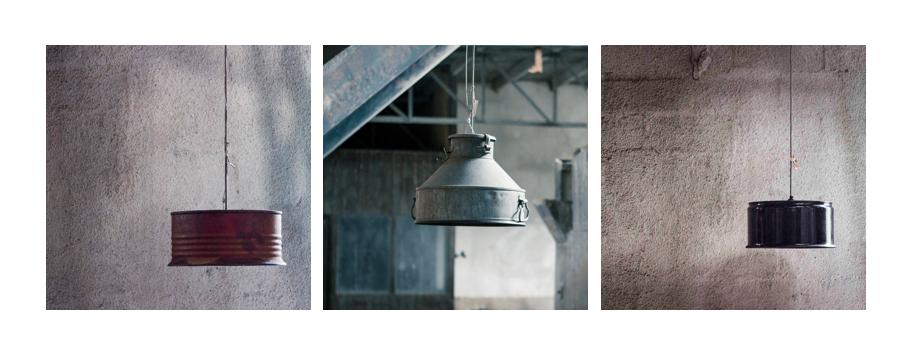 Industriële hanglampen met karakter