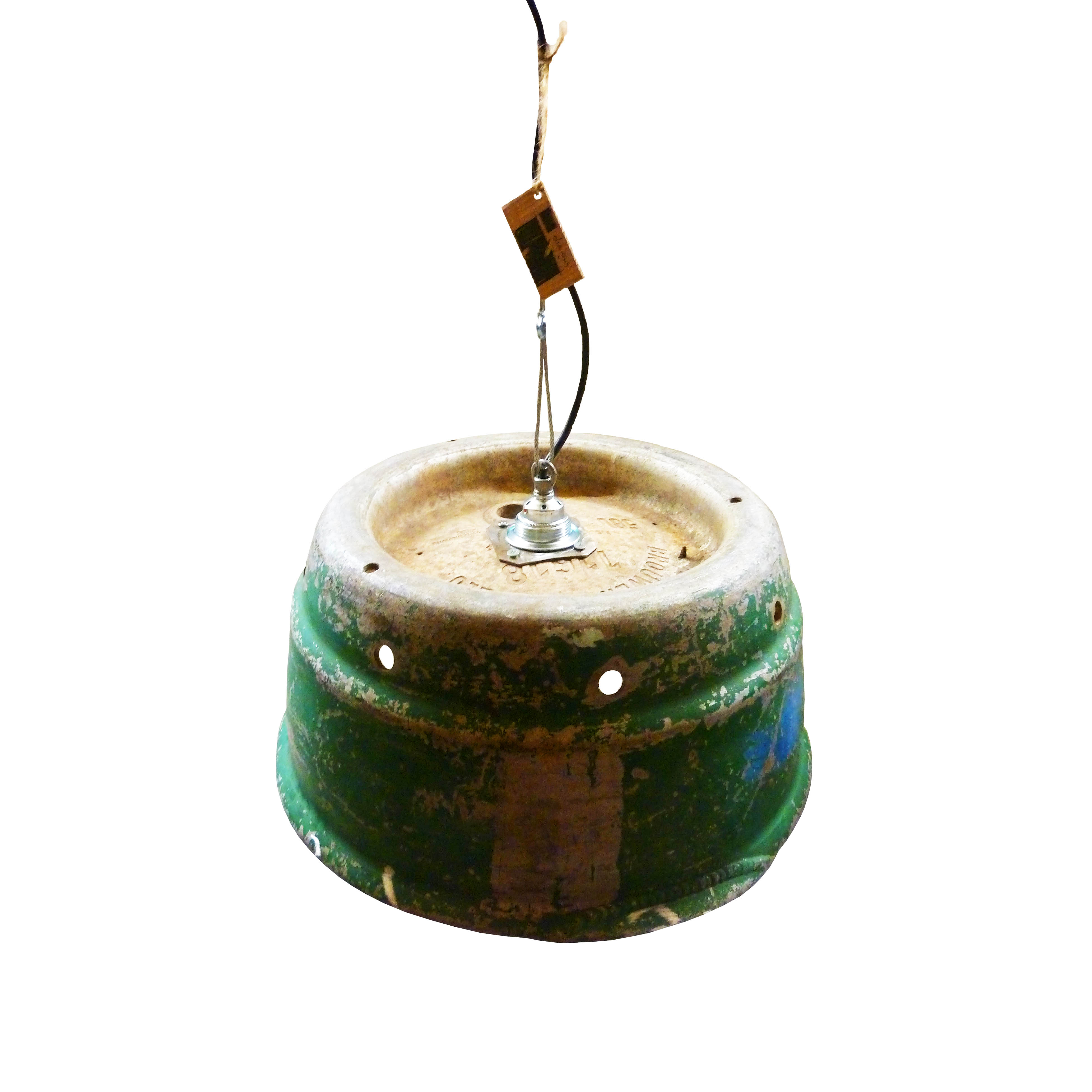 Industriële Hanglamp 'Green Corrosion 1' Indusigns