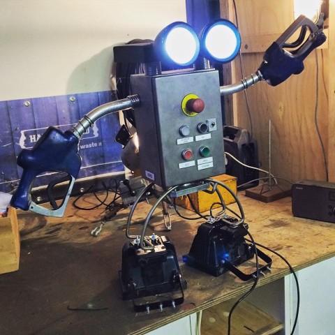 Robot van 'Afval' Indusigns