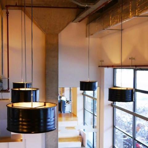 Op maat gemaakte industriële hanglampen