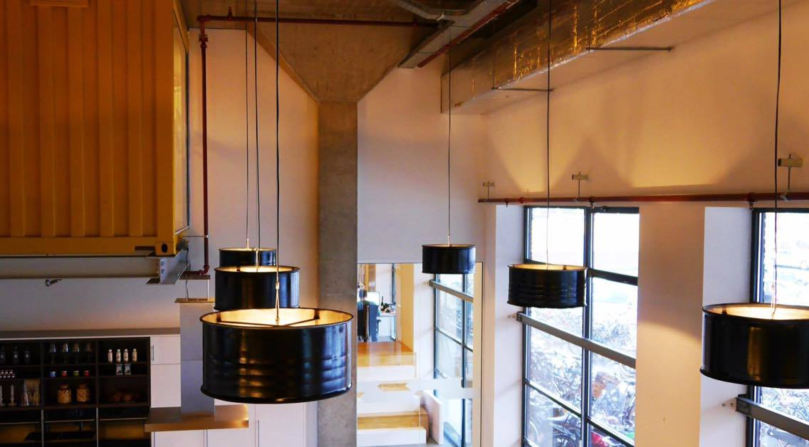 Industriële Hanglamp Kantoor Indusigns Amsterdam