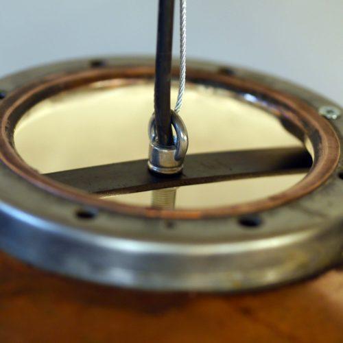 Industriële Koperen Hanglamp 'Boiler Light' Indusigns