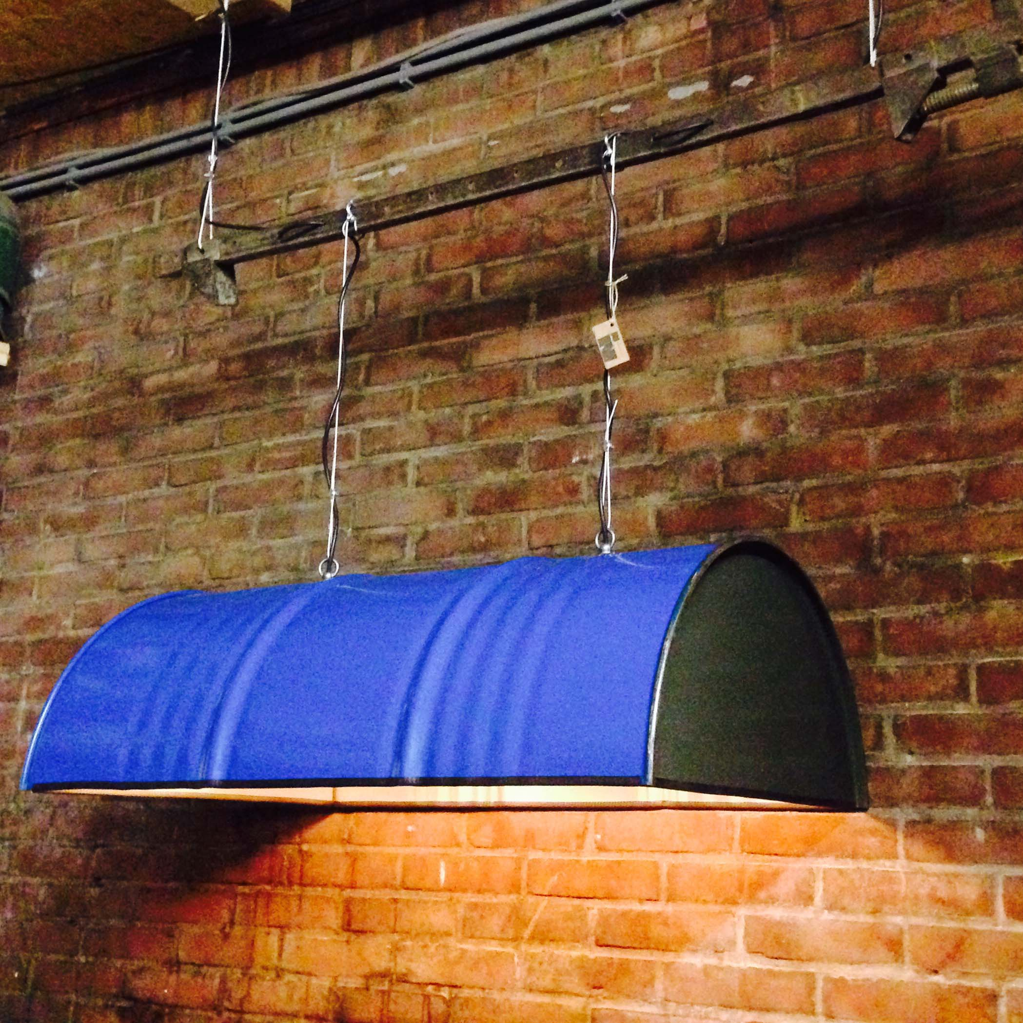 Industri le hanglamp 39 section light 39 indusigns - Industriele kantoorlamp ...