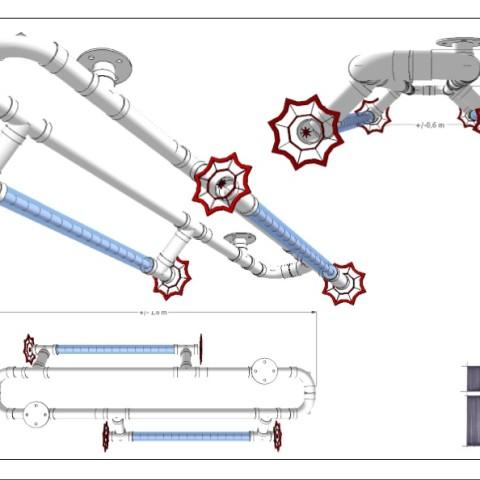 Schetsontwerp plafondconstructie