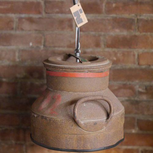 Industriële Hanglamp 'Corroded Milk' Indusigns