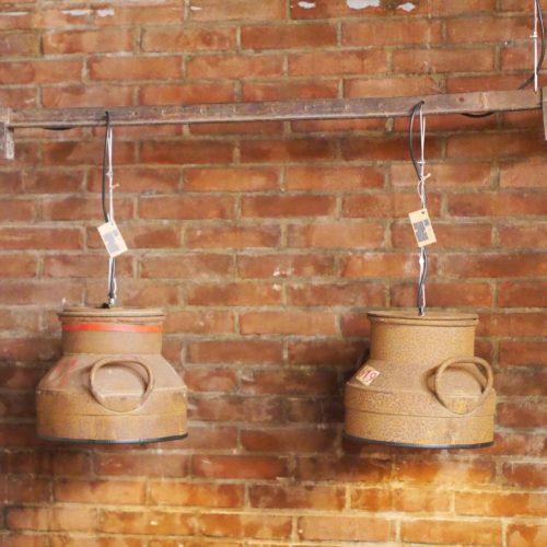 Industriële Hanglampen 'Milk' Indusigns