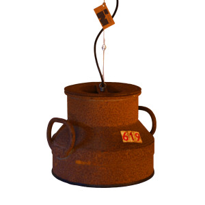 Industriële Hanglamp 'Rusty Milk' Indusigns