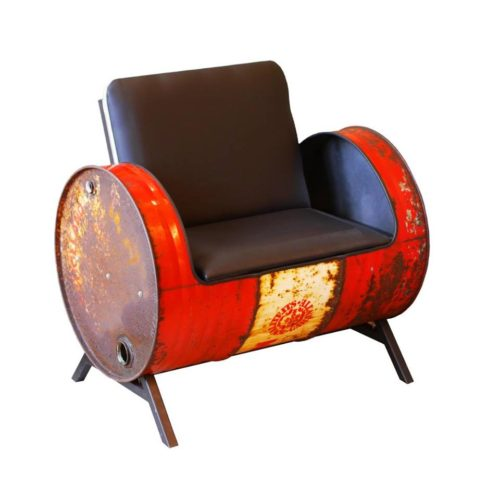 Industriële Bank 'Barrel Couch' Indusigns Amsterdam