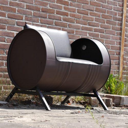 Industriële Bank 'Barrel Couch' Indusigns