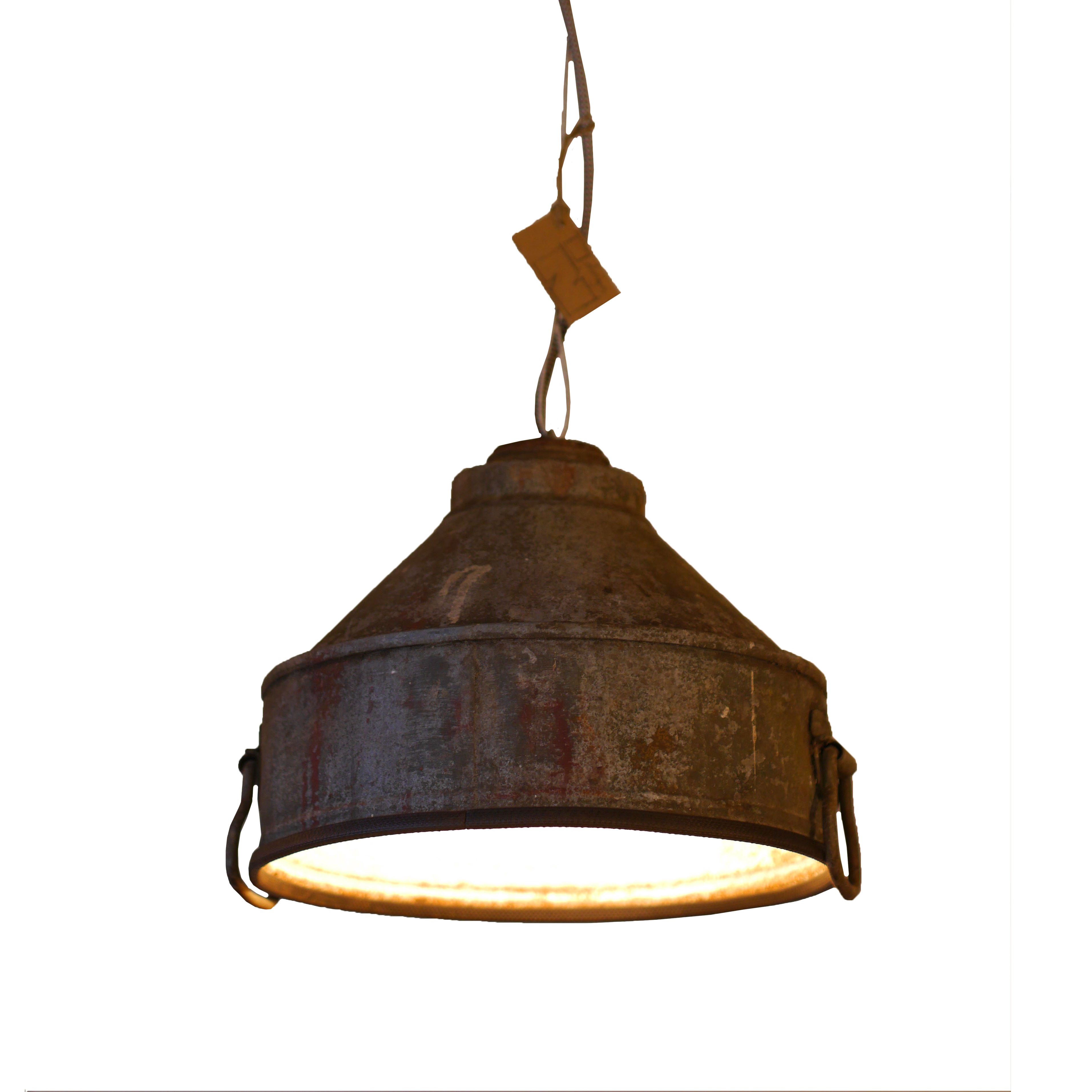 Industriële Hanglamp 'Corroded Funnel'