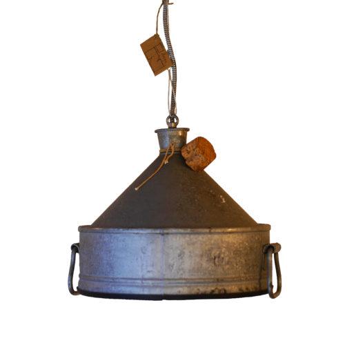 Industriële Hanglamp 'Funnel Cork' Indusigns