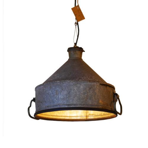 Industriële Hanglamp 'Grey Funnel' Indusigns