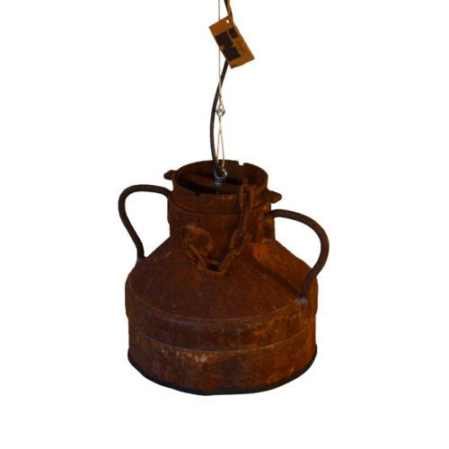 Industriële Hanglamp 'Rusty Milkcan' Indusigns