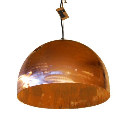 Industriële Koperen Hanglamp 'Copper Light'
