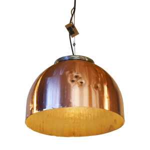 Industriële Koperen Hanglamp 'Copper Light' Indusigns