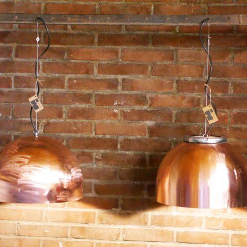 Industriële Koperen Hanglamp 'Copper Light' Indusigns