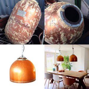 Koperen Hanglamp Industrieel Indusigns Amsterdam