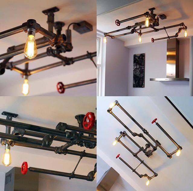 Industriële Plafondlamp Indusigns