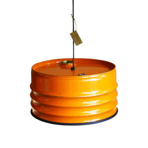 Industriële Hanglamp 'Orange Armature' Indusigns