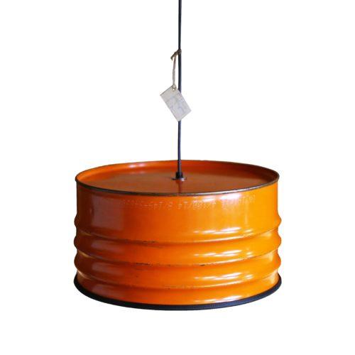 Industriële Hanglamp 'Orange Armature' Indusigns