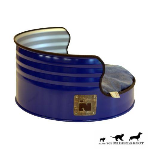 Stoere Industriële Hondenmand 'Dog Barrel' 5