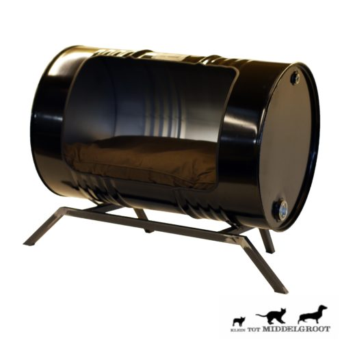 Stoere Industriële Hondenmand 'Dog House'
