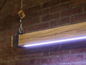 Industriële Hanglamp 'Woodlight' Indusigns