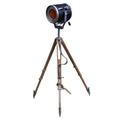 Industriële Vloerlamp 'Vintage Gamel Light' Indusigns