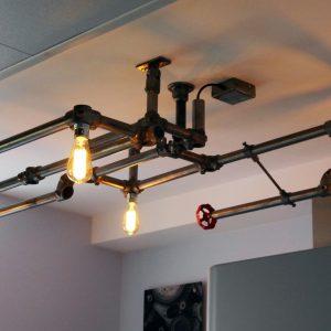 Industriële Plafondlamp Indusigns Amsterdam