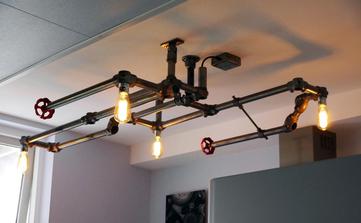 industri le plafondlamp indusigns amsterdam indusigns. Black Bedroom Furniture Sets. Home Design Ideas