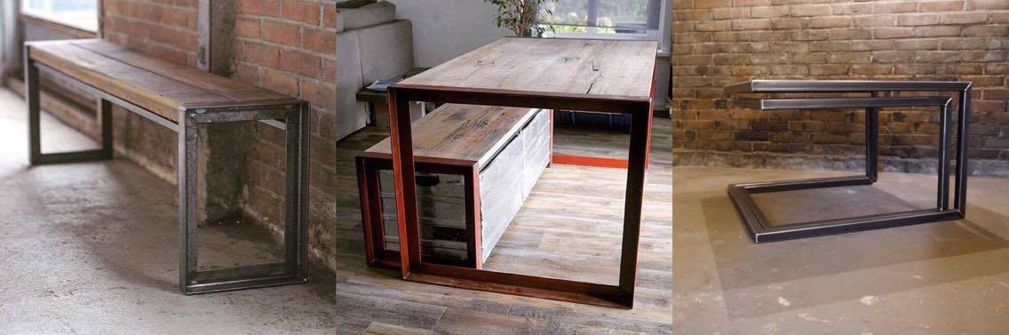 stalen onderstel tafel laten ontwerpen en maken