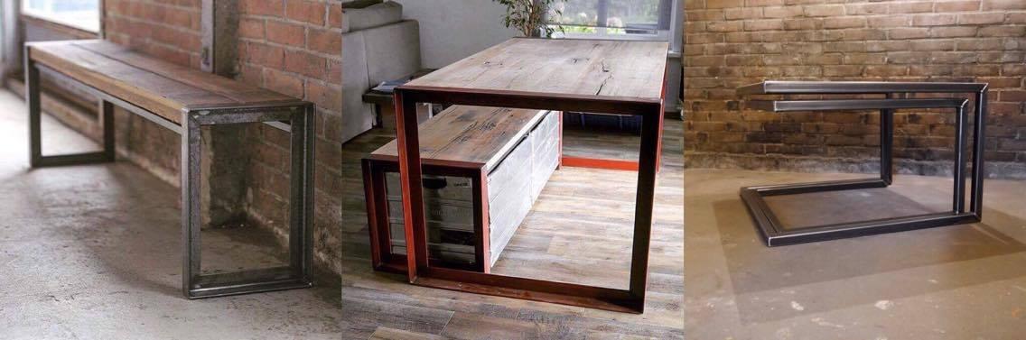 Stalen onderstel tafel laten ontwerpen en maken for Stalen onderstel tafel laten maken