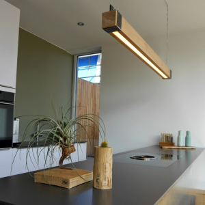 Industriële Hanglamp 'Woodlight' Indusigns