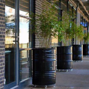 Industriële plantenbakken
